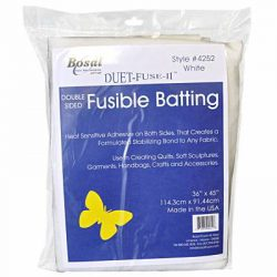 Bosal Fusible Batting one yard pk