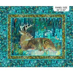 DP23796 66 Fantasy Forest from Northcott Fabrics