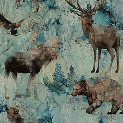 DP23752 64 Whispering Pines by Northcott Fabrics