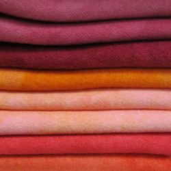 Woolylady Hand Dyed Wool Fat Quarters