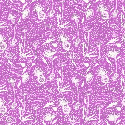 Y3065 122 Thistle Patch from Clothworks